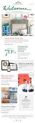 fashion e commerce email marketing examples referral saasquatch one kings lane welcome email 1 2 3 layout