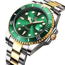 OLEVS Men <b>Stainless Steel</b> Watch,<b>Fashion Luxury</b> Classic Quartz ...