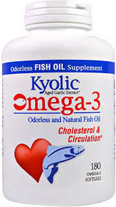 Omega-3 Odorless and Natural Fish Oil 180 Sgels ... - Amazon.com