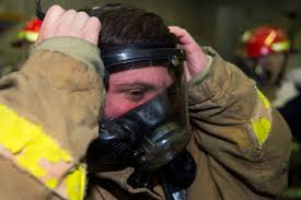 u s department of defense photo essay u s navy petty officer 3rd class andrew frisbie dons firefighting equipment during a general quarters drill