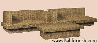 twisted banana leaf furniture bark furniture