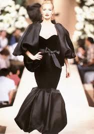 <b>YSL</b> BLACK BOUFFANT~ Model: Karen Mulder 1990's | Fashion ...