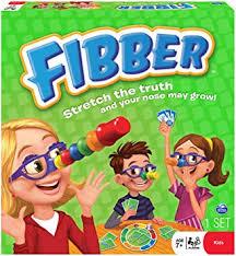 <b>Spin Master</b> Toy - 3-4 Player Family <b>Games</b> - <b>Fibber</b> Board <b>Game</b> ...