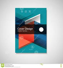 abstract design cover page template stock vector image  abstract business flyer design vector template in a4 size annual report or book cover