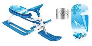 <b>Снегокат Sweet Baby</b> Snow Rider 2 Blue. Swееt Bаbу