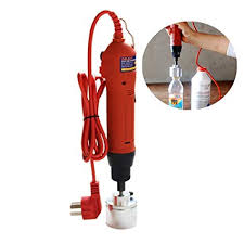 Amazon.com: ELEOPTION Manual <b>Bottle</b> Capper <b>Handheld Electric</b> ...