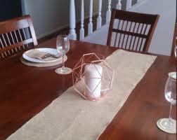 dining table wedding day runner