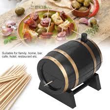 Home, Furniture & DIY <b>Automatic Wine</b> Barrel-Shaped Toothpick ...