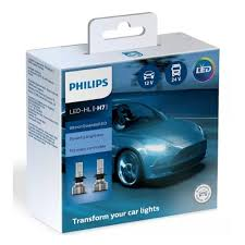 <b>Лампа</b> светодиодная <b>PHILIPS</b> H7 <b>Ultinon</b> Essential LED 6500K, 2 ...