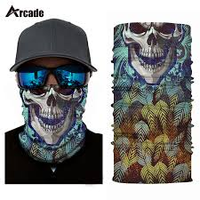 Arcade Festival <b>Motorcycle Face Mask Halloween</b> Scarf Shield ...