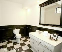 Beaux Reves Basement Remodel Part   The Powder Room - Bathroom wraps