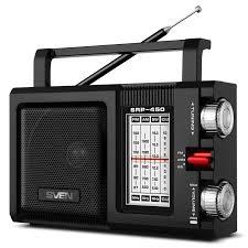 <b>Радиоприемник SVEN SRP-450</b>, черный — купить в интернет ...