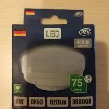 <b>Лампочка REV LED</b> GX-53 4000 – купить, цена 90 руб., дата ...