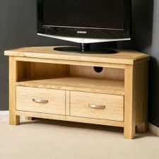 london oak corner tv stand plasma tv cabinet solid wood tv unit brand baumhaus mobel solid oak corner