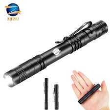 ZHIYU <b>mini pocket LED</b> flashlight CREE XPE Q5 lamp bead ...