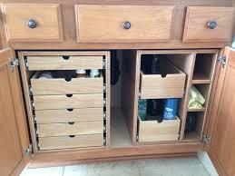 organizing drawers kitchen bathroom
