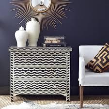 chevron chest wisteria chevron painted furniture