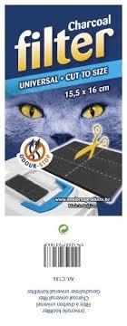 <b>Фильтр</b> для туалета кошек <b>Moderna Универсальный</b> угольный ...