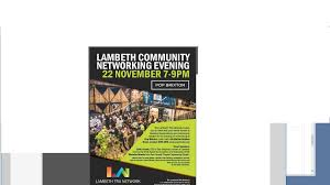 lambeth community networking evening lambeth council lambeth community networking evening