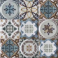 <b>Керамическая плитка Mayolica</b> Ceramica <b>VINTAGE</b> Mix Moon 20x20