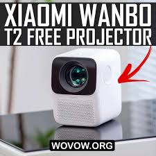 <b>Xiaomi Wanbo T2 Free</b> First REVIEW: $85 Full HD Portable Projector