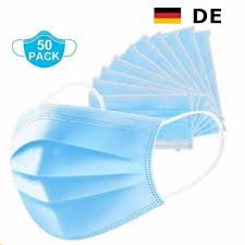 <b>100 Pieces Of Nonwoven</b> 3 Layer Dustproof Mask Disposable ...