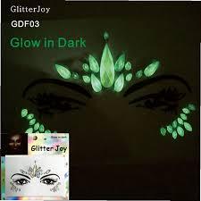 GDF03 1 шт. Светящиеся в темноте Стразы для <b>лица</b> ...