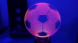 <b>football 3D</b> LED <b>Night Light</b> - YouTube
