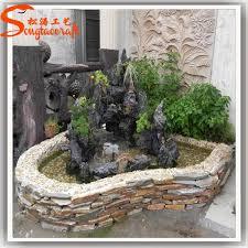 Fontana Cascata Da Giardino : Vetroresina cinesi fontane da interno e di vetro cascate con