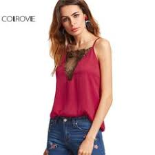 summer <b>women lace</b> chiffon print tank top female plus size ...