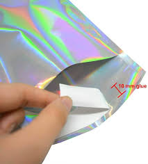 Office Products <b>50Pcs Holographic Metallic</b> Poly Mailers Foil Glitter ...