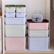 bathroom box pcs set high quality elegance plastic cloth cosmetic organizer case bathroom box kitchen desktop storage