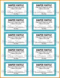printable raffle tickets receipt templates printable diaper raffle tickets quotes images