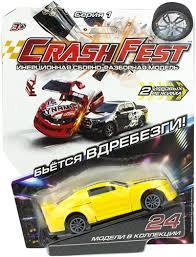 Характеристики <b>1TOY CrashFest</b>: Street Liner, 10 см (Т17090-24 ...