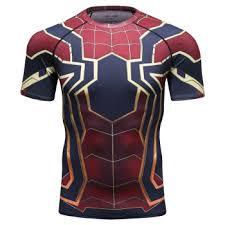 Wholesale Lycra Polyester Mens <b>Marvel T Shirt 3d</b> Printing ...
