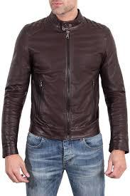 <b>Кожаная куртка AD MILANO</b> арт DAR528_DARK_BROWN ...
