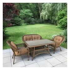 <b>Комплект плетеной мебели</b> АФИНА-МЕБЕЛЬ T130Bg/LV520BB ...