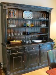 rustic hutch dining room:  dining room antique buffet table dining room best theme dining room hutch used hutch for