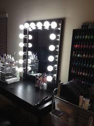 vanity mirror with lights best lighting for makeup vanity
