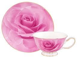 <b>Elan gallery Чайная пара</b> Розовая роза — купить по выгодной ...