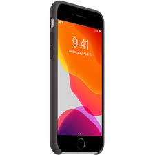 <b>Чехол Apple Silicone Case</b> для iPhone SE черный | Чехлы ...