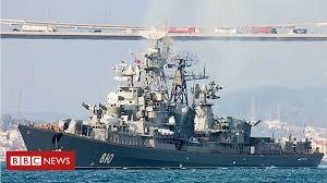 Russian warship fires warning shots at Turkish <b>fishing boat</b> - BBC ...