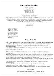 resume templates for customer service representatives   klobot    professional customer service representative resume templates
