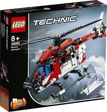 <b>Конструктор Lego TECHNIC Спасательный</b> вертолёт 42092 ...