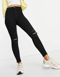 <b>Women's Ripped Jeans</b> | Ripped Mom & Skinny Jeans | ASOS