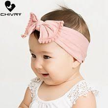 <b>Chivry</b> Toddler Infant <b>Baby</b> Kids Turban Knot Soft Nylon Head Wrap ...