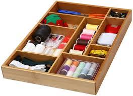 organizer for kitchen ybm home amp kitchen bamboo utility drawer organizer for kitchen bathr