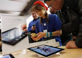 worrying declines in teen and young adult employment brookings an apple employee counts money as a customer purchases the newest ipad at the 5th avenue