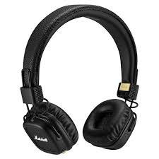 Купить <b>Marshall Major</b> II Bluetooth black в Москве: цена <b>наушников</b> ...