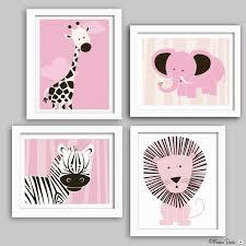baby nursery animal pics cute cartoons frames giraffe elephant zebra and lion decorations room creative design baby nursery cool bee animal